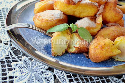 Яблоки в кляре рецепт с фото быстрый