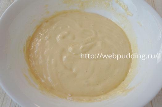 Кекс на варенье без кефира