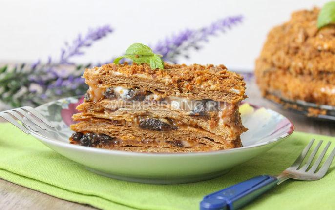 Рецепты медового торта со сгущенкой