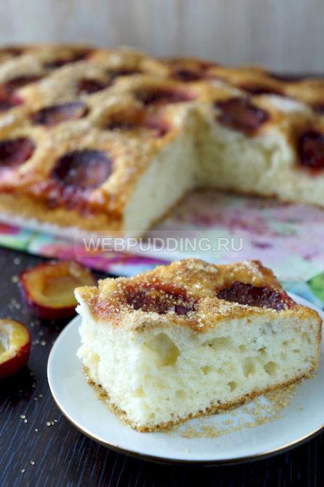Рецепты пирогов замороженной сливой