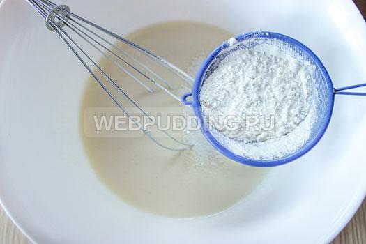 Рецепт блинов на кипятке без соды