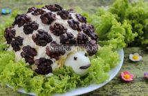 Салат «Черепаха»