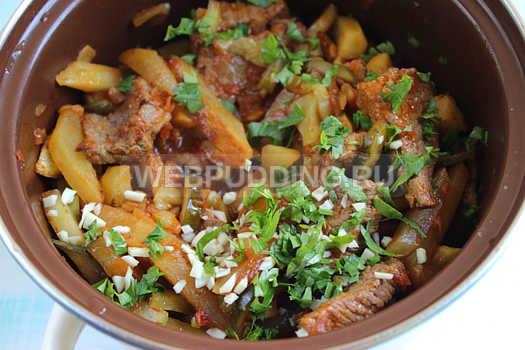 Азу из говядины с солеными огурцами рецепт с фото пошагово