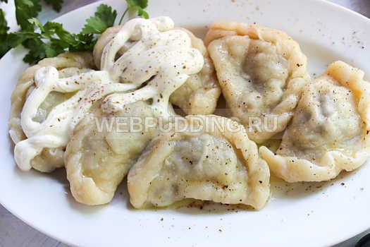 Рецепт вареников с картошкой и грибами пошаговый рецепт