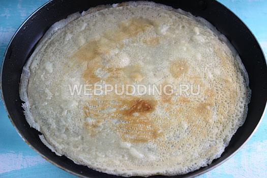 Блины на молоке рецепт с пошагово с дырочками с разрыхлителем рецепт