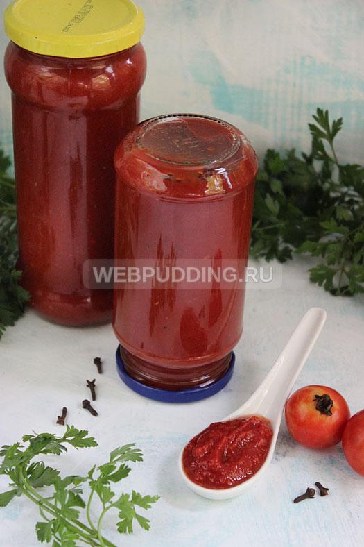 Кетчуп в домашних условиях на зиму пошаговый рецепт с фото