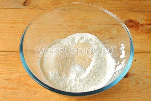 Как сделать дрожжевое тесто из сухих дрожжей на воде