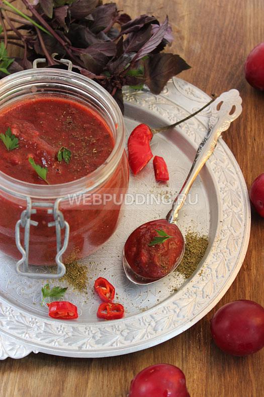 Рецепт соус из слив или ткемали