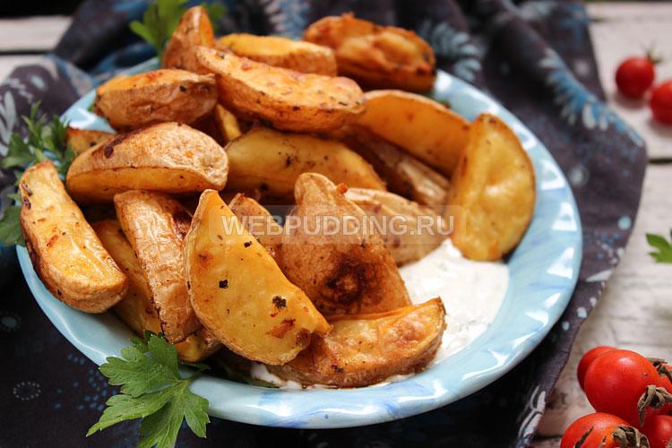 Картошка по деревенски с курицей в духовке рецепт пошагово на протвине
