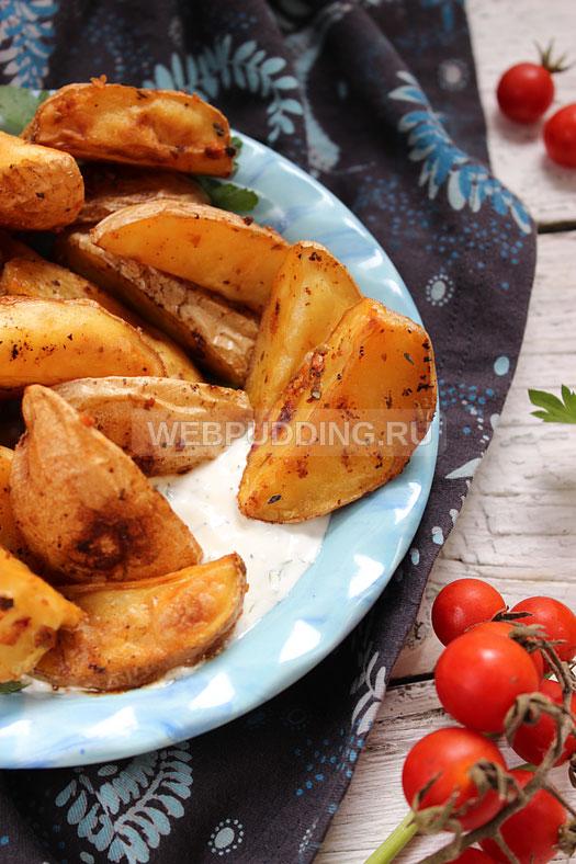 Форель с картошкойы в духовке
