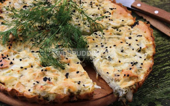 Пирог с капустой быстро и вкусно в мультиварке рецепты