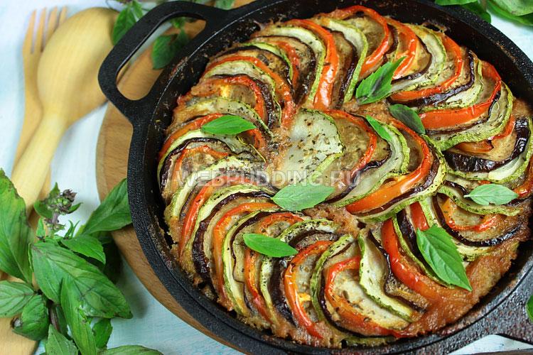 Рататуй с картошкой рецепт с фото пошагово