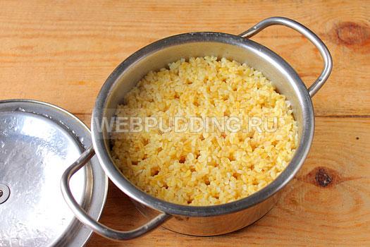 Рецепт приготовления булгура как гарнир