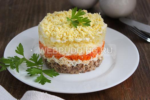 7 рецепт салат мимоза рецепт классический