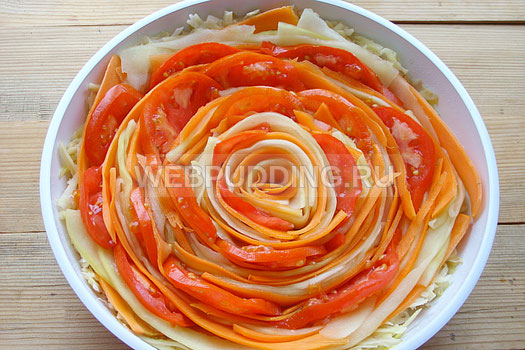 Что приготовить из кабачков мяса и моркови