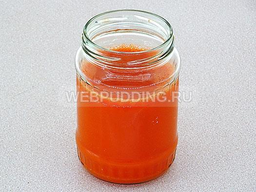 Морковный сок на зиму рецепт с фото