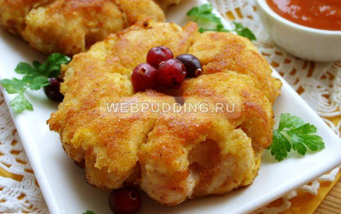 Приготовить курицу с ананасами на сковороде