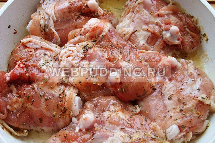Куриные грудки в белом вине