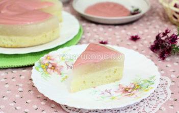 Бисквитный торт из дыни