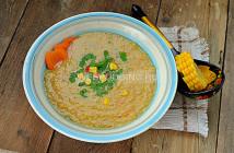 Куриный суп-пюре с кукурузой