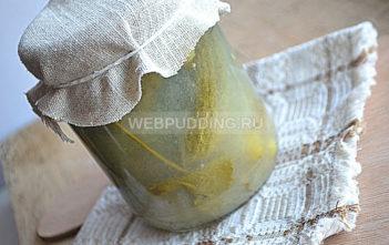 Огурцы в огуречном соке на зиму