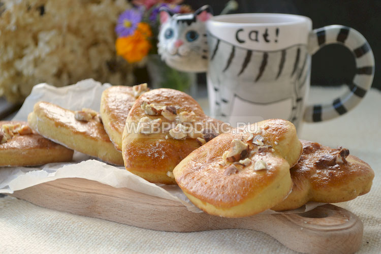 Пряники-печенье с орешками