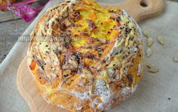 Хлеб с тыквой