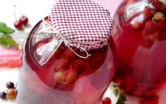 Компот из ягод на зиму