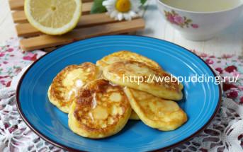 Оладьи из манной каши с лимонным соком