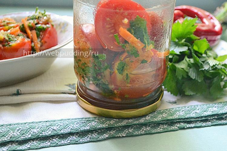 Маринованные помидоры по-корейски