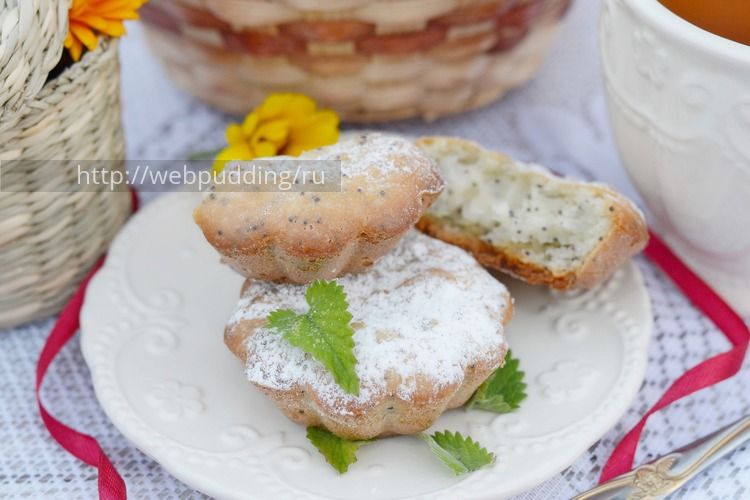 Кексы на кефире и растительном масле