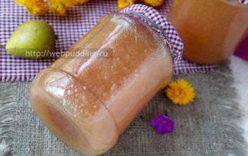 Конфитюр из груш и яблочного сока