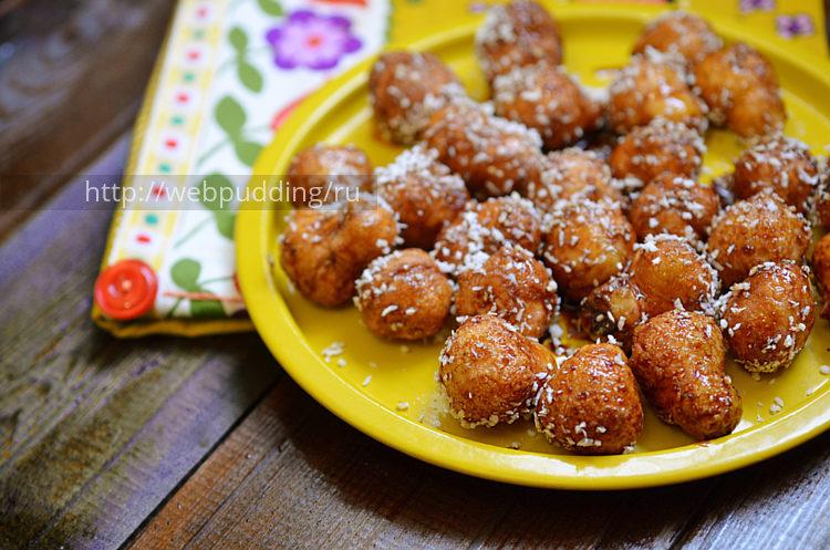 Дрожжевые пончики по-арабски