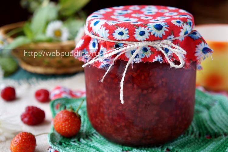 Варенье из малины и клубники