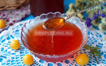 Варенье-желе из алычи