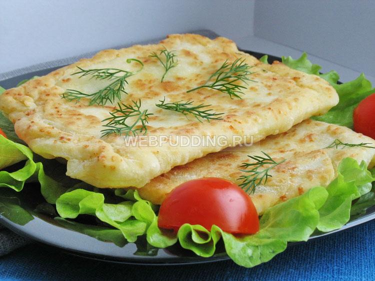 Лепешки с сыром