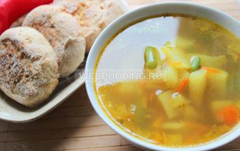Самый простой овощной суп