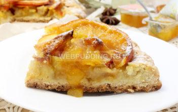 Пирог из яблок и апельсинов