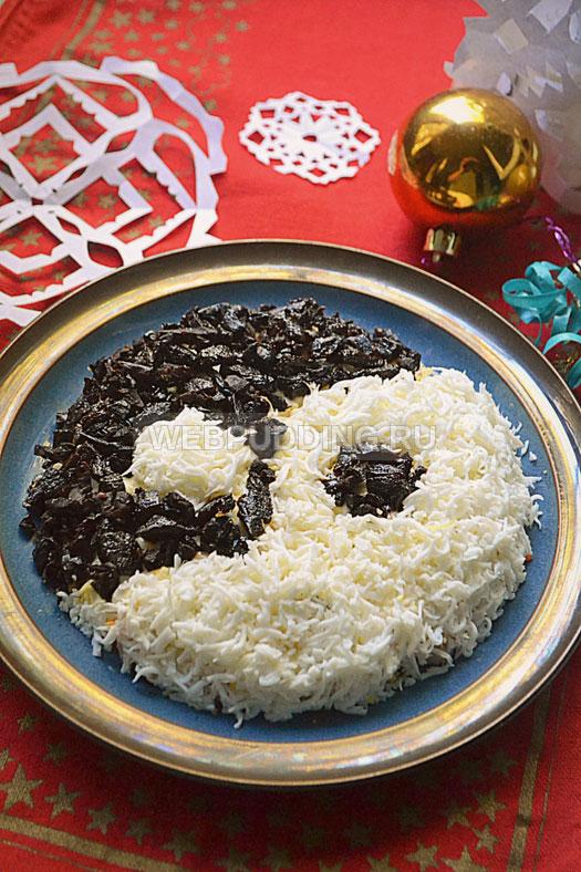 Салат инь-янь рецепт с фото