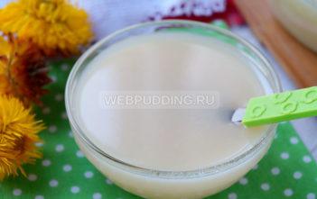 Домашнее сгущённое молоко с ванилином