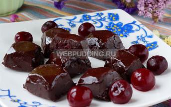 Шоколадные конфеты с вишней