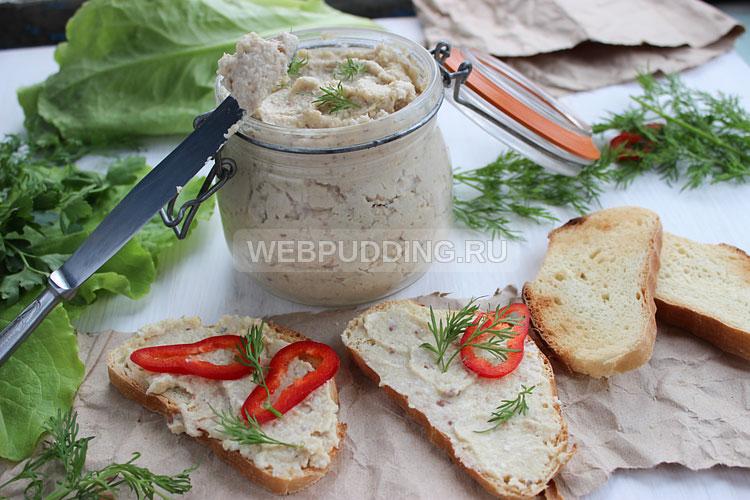 Форшмак с плавленым сыром