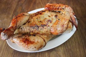 Курица фаршированная без костей, Как приготовить на