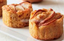 Маффины с грушей и яблочным пюре