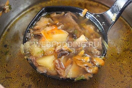 Что приготовить из сушеных белых грибов рецепт