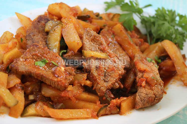 блюда из мяса говядина в духовке рецепты с фото