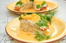 Блинная закуска из кабачков