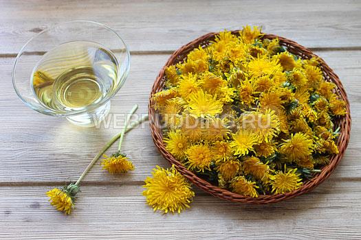 Maslo-iz-cvetkov-oduvanchika-1