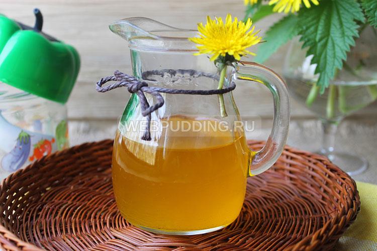 Масло из цветов одуванчика
