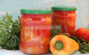 Лечо из помидоров и перца на зиму